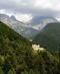 Fortress Predil on a pass