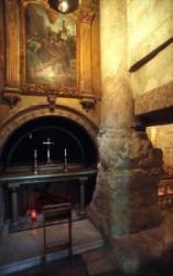 Via dolorosa. Chapel of Franciscan.