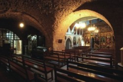 Holy Land_Holy Prison_Tomb of Christus_Golgotha_Roman Catholics_Greek orthodox_st. Jakab chapel in the Holy Sepulcher_