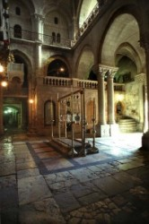 Holy Sepulcher_Holy Land_Holy Prison_Tomb of Christus_Stone of the Unction_Golgotha_Roman Catholics_Greek orthodox, Entrance hall in the Holy Sepulcher, Picture of Church of the Holy Sepulchre.