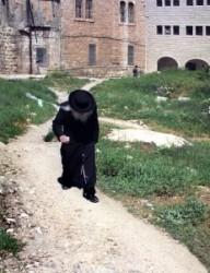Jews quarter Israel, Jerusalem, Mea Shearim Qarter. Old Jews. Jes dis is the Holy Land.