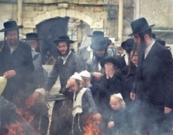 Chatzot in Israel, Jerusalem, Mea Shearim ultraorthodox Jews quarter.