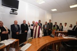 Inauguration of the Eye Clinic in Oradea
