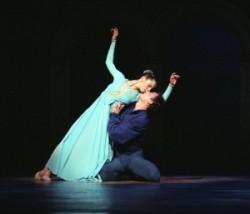 Romeo and Juliet. Ballet of Győr, Koreographer: Robert North, Music: Szergej Prokofjev, dancer: Szabina Cserpák, Balázs Pátkai.
