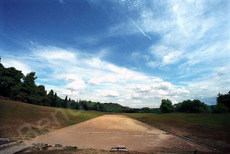 Ancient Stadium at Olympia