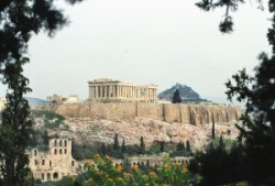 Panoramic view of the Acropolis