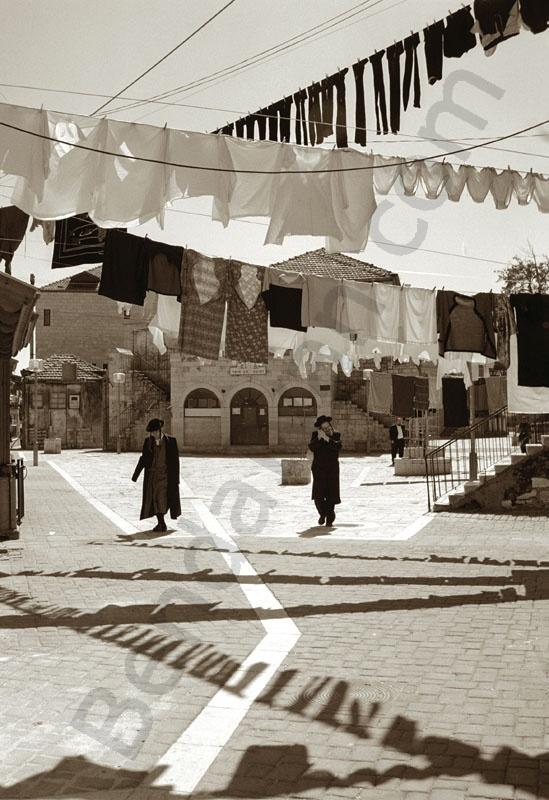 Mea Searim ortodox juis city quarter in Jerusalaim. Israel. Holy Land. Ortodox juis,
