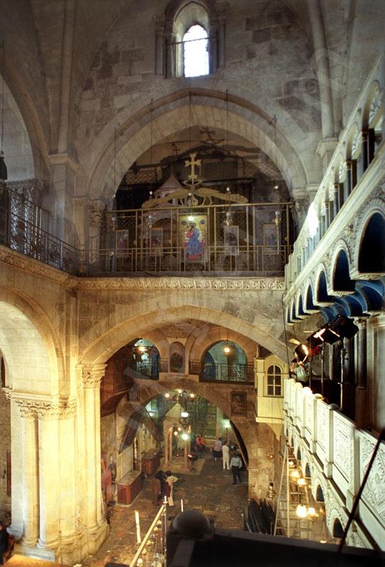 Holy Sepulcher_Holy Land_Holy Prison_Tomb of Christus_Stone of the Unction_Golgotha_Roman Catholics_Greek orthodox_