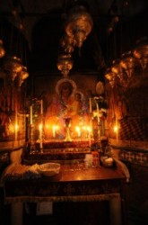 Choptic chapel at the grave of Jesus