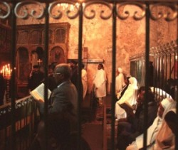 Holy Land_Holy Prison_Tomb of Christus_Golgotha_Roman Catholics_Greek orthodox_Chapel of Adam in the Holy Sepulcher_