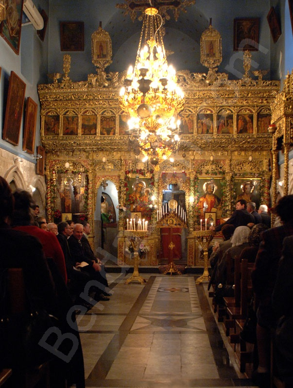 Chapel of Saint Jakab_Holy Land_Holy Prison_Tomb of Christus_Golgotha_Roman Catholics_Greek orthodox_Jesu_Greek_