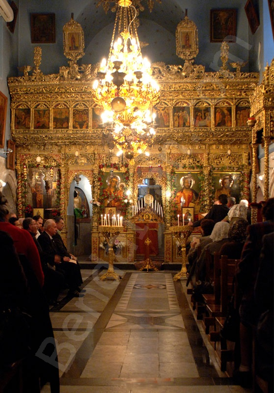 Holy Land_Holy Prison_Tomb of Christus_Golgotha_Roman Catholics_Greek orthodox_Chapel of Adam in the Holy Sepulcher_