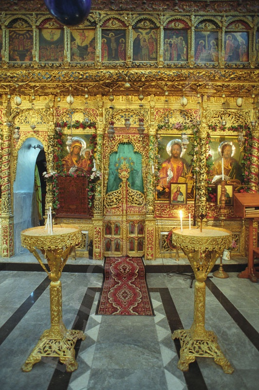 Holy Land_Holy Prison_Tomb of Christus_Golgotha_Greek orthodox_Chapel of th saint Jakab in the Holy Sepulcher_