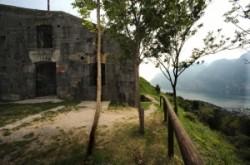 Mountain Fortresses at the Garda lake